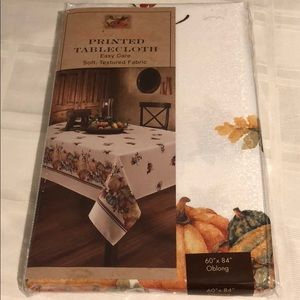 Other - New 60x84  Oblong Harvest Blessings Tablecloth